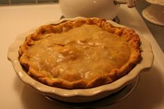For the love of white: Delicious Chicken Pot Pie