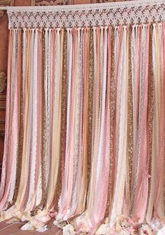 pink white yellow lace sparkle sequin photo booth,baby shower Wedding ceremony stage, birthday,party,banner Garland backdrop,curtain by SilverDrawer on Etsy