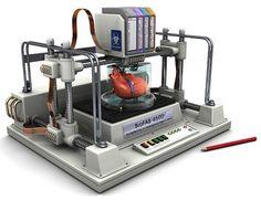 #3d-printing heart