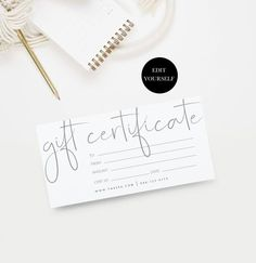Choosing christmas presents for the ones you truly cherish, doesn't have to be difficult. These meaningful gift ideas will blow them away Certificate Design, Certificate Templates, Templates Printable Free, Printable Vouchers, Gift Vouchers, Free Printable Gift Certificates, Gift Voucher Design, Marketing, Giveaway