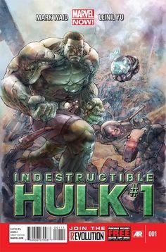 Indestructible Hulk #1 by Mark Waid & Leinil Yu Arrives in November