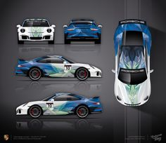 Approved livery design for Porsche 911 GT3