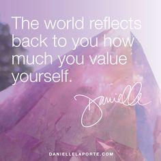 gem reflects. #quote #desiremap #daniellelaporte