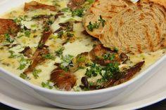 V kuchyni vždy otevřeno ...: Hlíva zapečená s mozzarellou a gorgonzolou