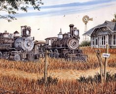 The Old Depot by John Zed King