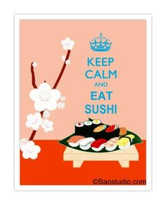 KEEP CALM  AND EAT SUSHI....... Celebrate the Queen's Jubilee with us at Bamboo! Happy Hour drinks prices all night Monday 4th June!!