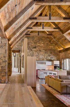 Außergewöhnliches, modern-rustikales Haus in Aspen von Zone 4 Architects - Besten Haus Dekoration