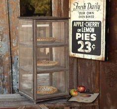 Wooden Pie Safe