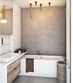 35 Modern bathroom decor ideas to match your home design -.- 35 Moderne Badezimmerdekor-Ideen passen zu Ihrem Wohndesign-Stil – 35 Modern Bathroom Decor Ideas Fit Your Home Design Style – – – - Patterned Bathroom Tiles, Bathroom Makeover, Shower Room, Modern Bathroom, Amazing Bathrooms, Modern Bathroom Decor, Bathrooms Remodel, Bathroom Decor, Bathroom Inspiration