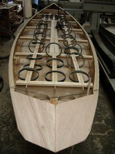 """Sit On Top Kayak Diy Here at Wood Surfboard Supply we're working on our """"Big Foot"""" SUP made entirely from paulownia marine plywood. Wooden Paddle Boards, Wooden Surfboard, Marine Plywood, Remo, Wood Boats, Boat Design, Boat Building, Water Crafts, Paddle Boarding"""