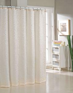 Alcott Hill Blarwood Jacquard Shower Curtain & Reviews   Wayfair