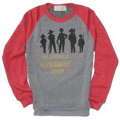 """""""The Adventures of Huckleberry Finn"""" Unisex Literary Fleece by Out of Print Clothing (Unisex Medium)"""
