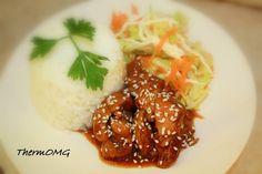 Honey Soy Chicken — ThermOMG Honey Soy Chicken, Garlic Chicken, Belini Recipe, Diced Chicken, Cooker Recipes, Chicken Recipes, Meatball Recipes, Stock Cubes, Thermal Cooker