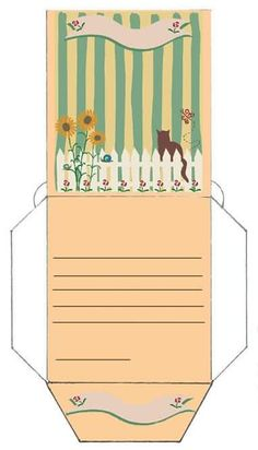 seed packet Seed Packet Template, Envelopes, Printable Box, Baby Clip Art, Cat Crafts, Seed Packets, Paper Cards, Diy Projects To Try, Journal Cards