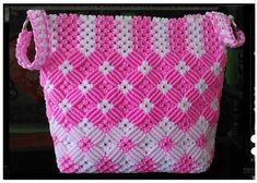 Photo Collar Macrame, Macrame Purse, Macrame Cord, Macrame Knots, Macrame Chairs, Macrame Design, Macrame Tutorial, Macrame Projects, Crochet Handbags