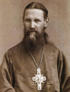 """WISDOM FROM The Orthodox Church: St. John of Kronstadt"" by Melanie Jean Juneau --Hmm.something to think about. Orthodox Catholic, Russian Orthodox, Orthodox Christianity, Roman Catholic, Fervent Prayer, Modern Quotes, Peter The Great, Morning Prayers, Orthodox Icons"