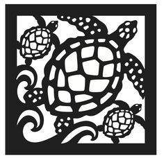 """Our Nautical Sea Turtle Panel can be used for gates, wall decor, porch railings, header for twin beds, coastal privacy screen...Measures 31""""x31"""" and made from a 30 year life poly wood that requires no painting or maintenance. Shop here: http://www.islandcreekdesigns.com"""