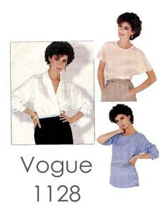 Vintage 1980s Vogue 1128 American Designer by DesignRewindFashions, $10.00