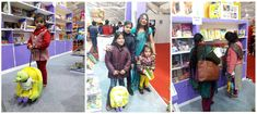 Kids enjoy the reading Purple Turtle's Books at #NewDelhiWorldBookFair Come and explore our amazing collection of Children's Books. New Delhi World Book Fair 2018 at Pragati Maidan from 6th to 14th January 2018. #NDWBF - Booth No. - 192 to 194 near lake side hanger, Gate No. 1 (Metro Gate). #PurpleTurtle #future #kids #luxury #brand #franchise #KidsBag #TrolleyBag