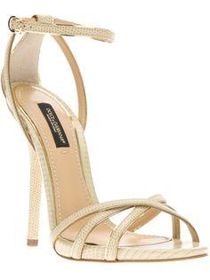 DOLCE & GABBANA Strappy Sandal