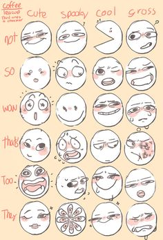 Drawing Reference Poses, Drawing Poses, Drawing Tips, Drawing Ideas, Drawing Face Expressions, Facial Expressions, Facial Expression Memes, Expression Sheet, Drawing Meme