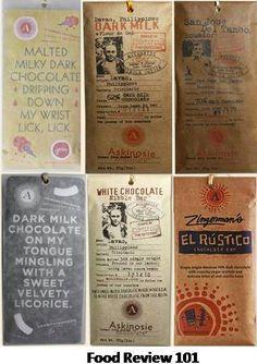 Askinosie Chocolate bar