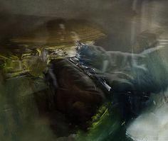 revel - 2014 - oil on canvas -  andré schmucki by andré schmucki, via Behance