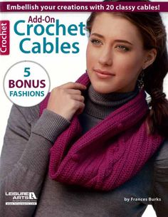 Maggie's Crochet · Add-on Crochet Cables