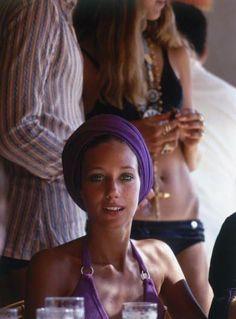 Marisa Berenson in Capri 1960's