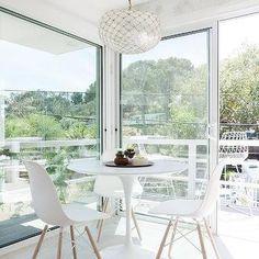 Ikea Docksta Dining Table, Transitional, Dining Room
