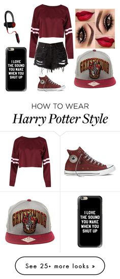 """Sports day: Dragons"" by morgan-924 on Polyvore featuring Casetify and Beats by Dr. Dre"