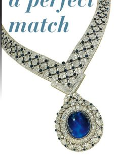 Image detail for -An important sapphire and diamond necklace, by Mouawad. $180,000 ...