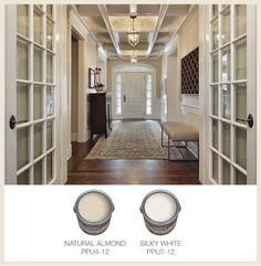 Colorfully Behr Part 2 White Trim Colors Entryway Decor Entrance Foyer