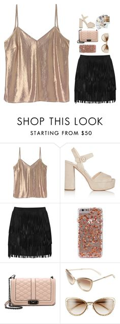 """""""*429"""" by ladyviktorian ❤ liked on Polyvore featuring Prada, Alice + Olivia, Rebecca Minkoff, Kate Spade and Chronicle Books"""