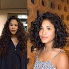 Do you like your wavy hair and do not change it for anything? But it's not always easy to put your curls in value … Need some hairstyle ideas to magnify your wavy hair? Haircuts For Curly Hair, Curly Hair Cuts, Curly Wigs, Medium Hair Cuts, Wavy Hair, Medium Hair Styles, Curly Hair Styles, Natural Hair Styles, Curly Hair Layers