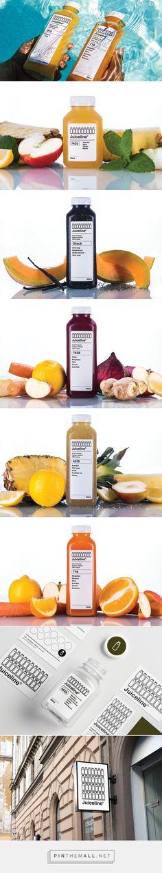 Juiceline Cold Pressed Juice — The Dieline - Branding & Packaging Design…