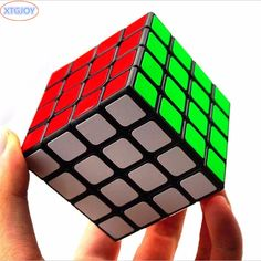 4*4*4The Latest No Stickers Regular Solid Color Speed Cube Classic Spinner Toy Suitable Square Puzzle Educationa Magic Cube