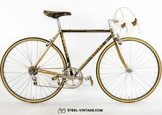 Steel Vintage Bikes - Vicini Campagnolo 50th Ann. Classic Bicycle