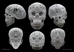 skull sculpture - Google Search