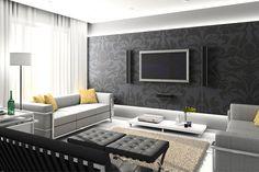Pelbagai model wallpaper ruang tamu mempunyai corak, motif, dan warna yang berbeza sehingga membuat dinding kelihatan lebih hidup.Selanjutnya di www.wom.my
