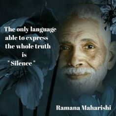 Silence is the only language Maharishi Mahesh Yogi, Soul Quotes, Wisdom Quotes, Life Quotes, Osho, Allan Watts, Sai Baba, Reiki, Hindu Quotes