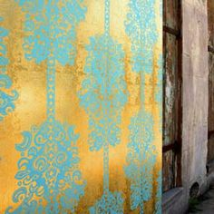 Flavor Paper - Monaco Wallpaper #wallpaper #metalic