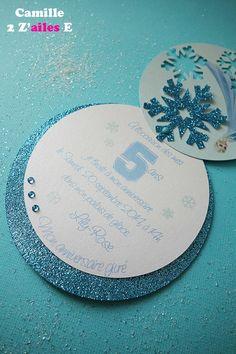 invitation ronde reine neige 3