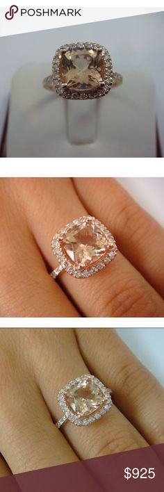 Engagement Rings 3.5 Carat Round Cut Diamond Engagement Ring Si1/f Yellow Gold 14k 6148 Jewelry & Watches
