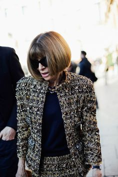 Anna Wintour How to date a french woman