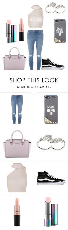 """""""Untitled #161"""" by alexponson ❤ liked on Polyvore featuring Dorothy Perkins, Kate Spade, MICHAEL Michael Kors, Apples & Figs, Cushnie Et Ochs, Vans and MAC Cosmetics"""