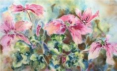watercolor batik on rice paper | Images may not be reproduced in any form without the express ...
