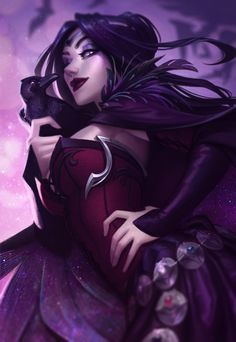 Morrigan Le Fay by Jessica Oyhenart Dark Fantasy Art, Fantasy Kunst, Fantasy Women, Fantasy Girl, Akali League Of Legends, Lol League Of Legends, Character Inspiration, Character Art, Character Concept