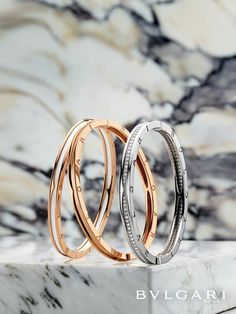 bvlgari engagement ring u0026 necklace see more bzero1 18k rose and white gold bracelets