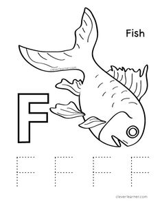 D is for dolphin colouring worksheets for preschool kids